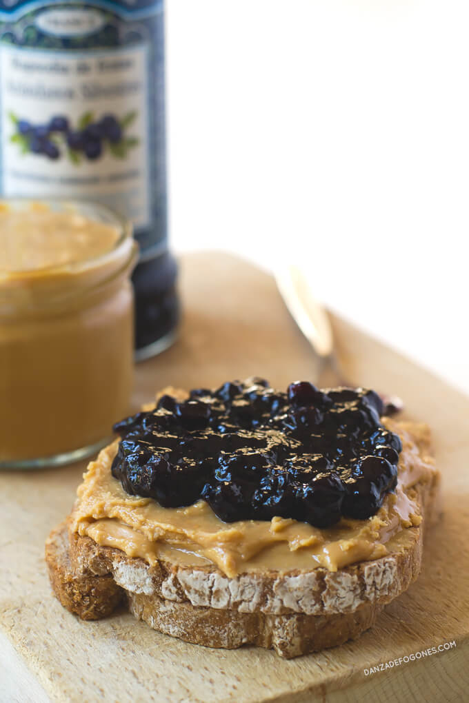 Peanut butter with jelly | danceofstoves.com