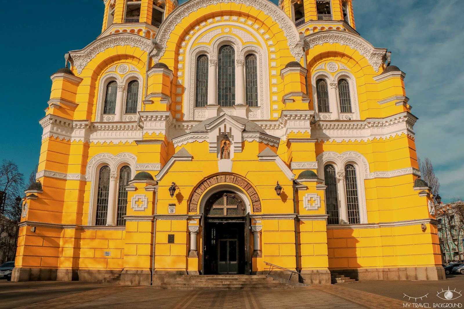 My Travel Background : visiter Kiev, la capitale de l'Ukraine, top 10 - Cathédrale Saint-Vladimir
