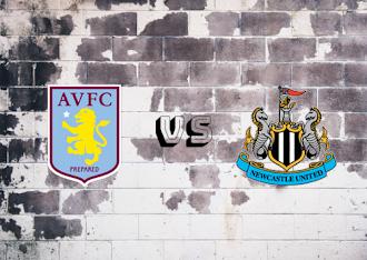 Aston Villa vs Newcastle United  Resumen y goles