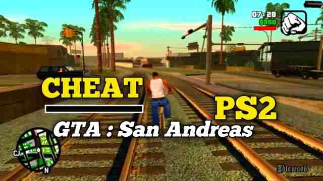 Daftar Cheat GTA San Andreas PS2 Terlengkap Bahasa Indonesia