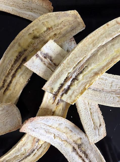 Herbstliche Bowl mit gerösteten Kochbananen, Rezept glutenfrei & vegan, Minimalismus: Zubereitung einfach + schnell, Healthy Food Style