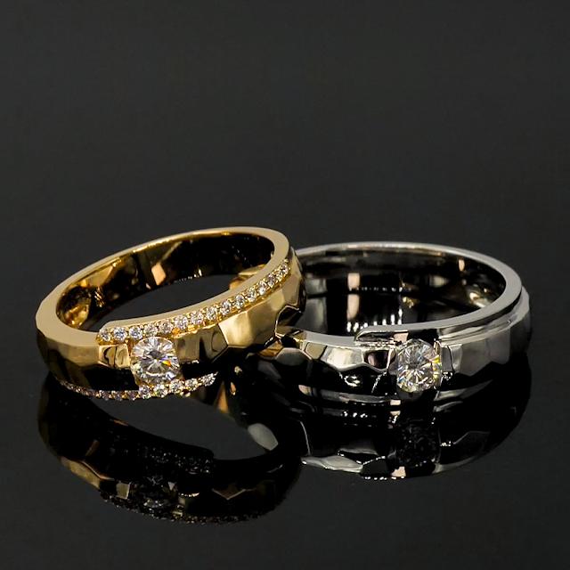 Có nên mua nhẫn cưới kim cương