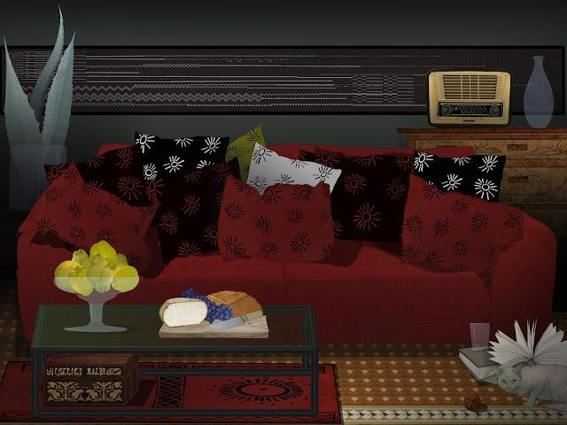 un sofa para la siesta