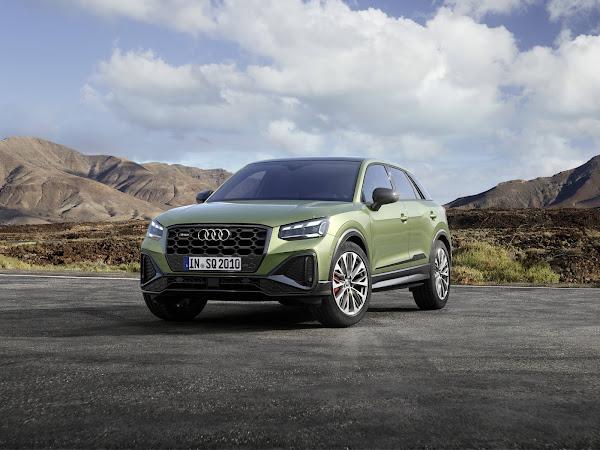 Audi SQ2 2021 ganha facelift e aperfeiçoamentos