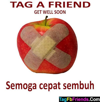 Get well soon in Malay language