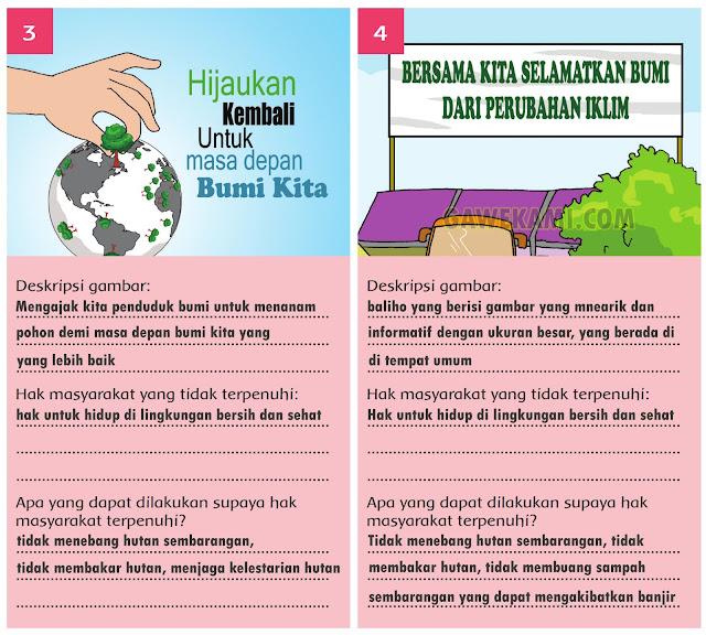 Kelas 6 Tema 8 Jawaban Halaman 112