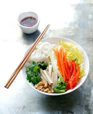 Cold Rice Noodle Salad Recipe