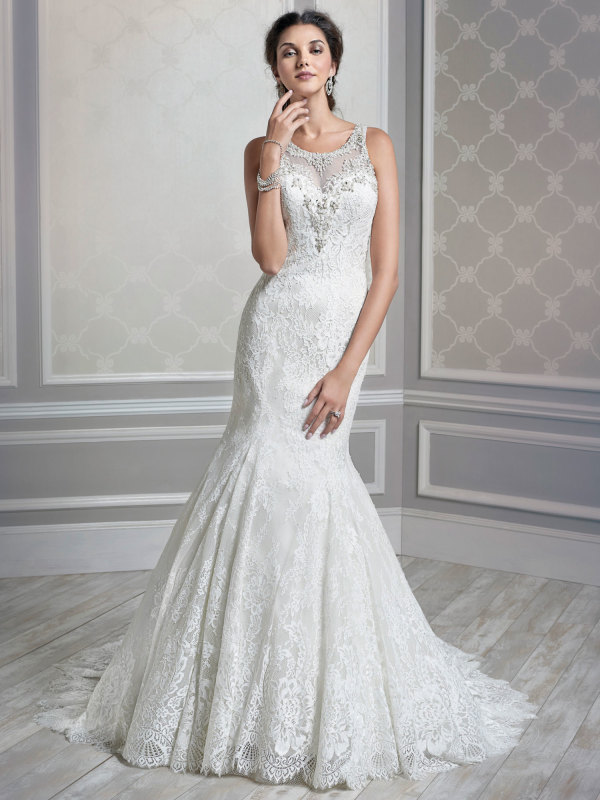 Increíble colección de vestidos de novias | Diseños de Kenneth ...