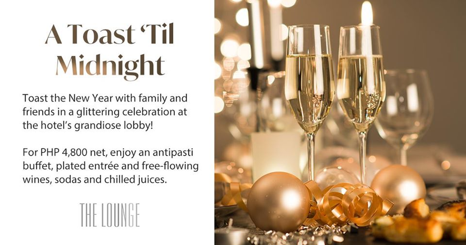 A Toast 'Til Midnight at Grand Hyatt Manila
