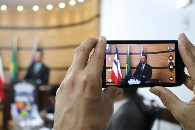 EMENDAS ATENDIDAS   Dênis fala das articulações de seu mandato que destinou mais de R$ 1,5 milhão em emendas para Conquista
