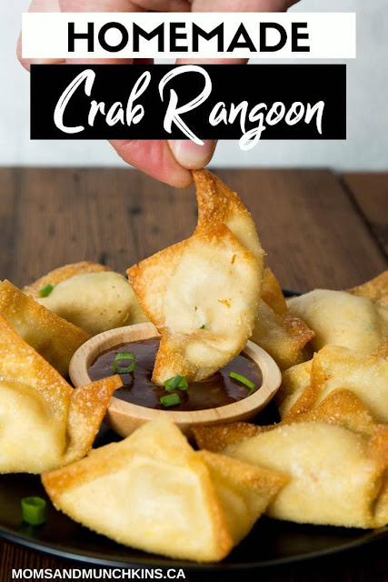 Homemade Crab Rangoon Recipe