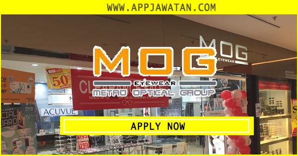 Jawatan Kosong di Metro Eyewear Holdings Sdn Bhd