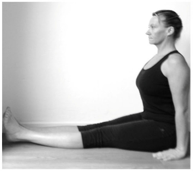 Dandasana or Staff Pose