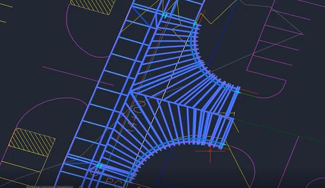 Match corridor region parameters tool in Autodesk Civil 3D