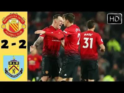 Manchester United vs Burnley 2-2 Football Highlights 2019