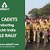 NCC Cadets Conducting Swachh India Cycle Rally