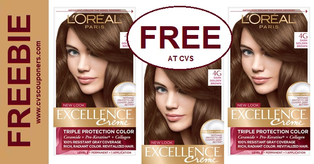 Free L'Oreal Hair Color CVS Deal 2-9-2-15
