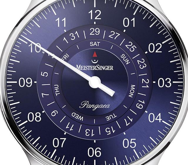 MeisterSinger PDD908 dial