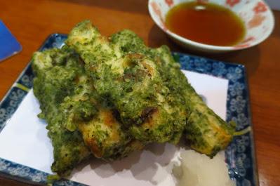 Keria Japanese Restaurant, chikuwa isobe age
