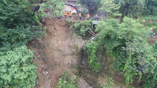 Longsor Di Sumur Wuni Kota Cirebon, Warga Terisolir
