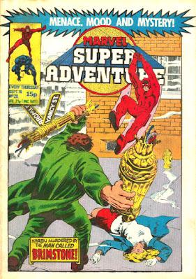 Marvel Super Adventure #20, Daredevil vs Brother Brimstone