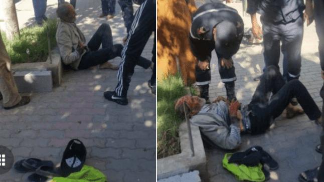 شخص متشرد يتعرض لاعتداء بواسطة السلاح الأبيض بأولاد تايمة