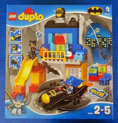 LEGO DUPLO Batcave Adventure set review pack shot