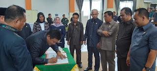 DPRD Kotabaru Bahas Satu Buah Raperda Perubahan RAPBD