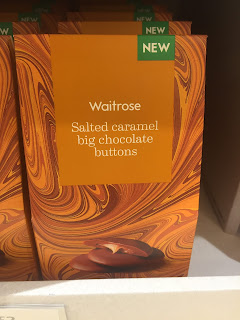 waitrose Salted Caramel Big Chocolate Buttons