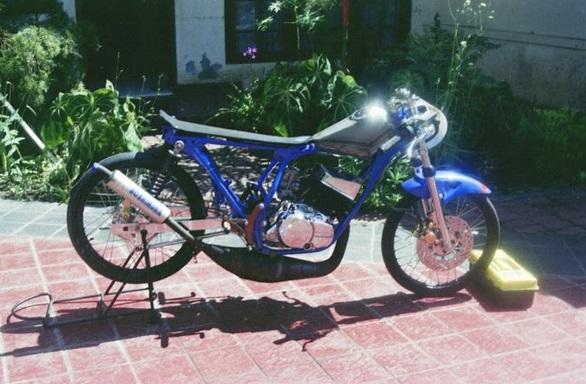 motor drag rx king modifikasi