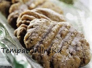 kue havermut coklat kelapa