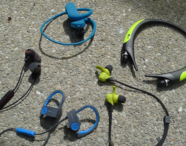 Sports wireless - UA Headphones, Sony NW413, LG TONE Active, Jaybird X2, Beats Powerbeats2