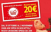 Logo Coop Il Buono del giocattolo: ricevi un buono da 20€