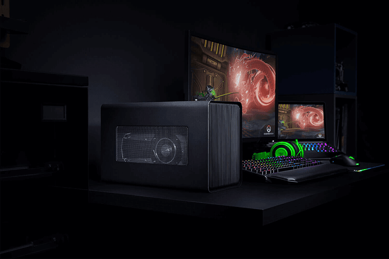 The Razer Core X External GPU Enclosure