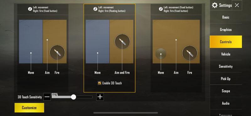 mengaktifkan fitur 3d touch