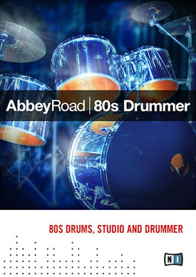 Cover da Library Native Instruments - Abbey Road 80s Drummer 1.3 (KONTAKT)