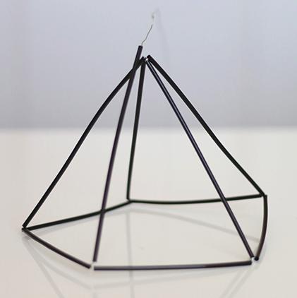 Simple Diys And Projects Diy Terrarium Himmeli Geometric Sculpture