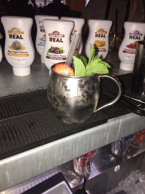 Leeds Loves Cocktails - creating our own cocktails