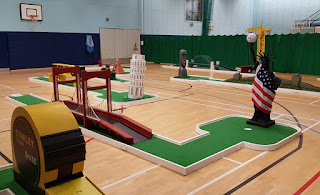 Landmark Golf at Wolsingham Sports Hall in County Durham