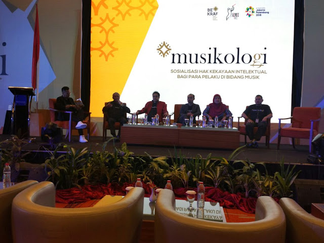 BEKRAF Gandeng AMI Gelar Event Musikologi Series II di Palembang