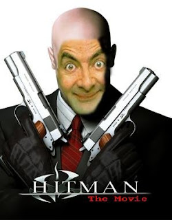 Funny Pictures Amazing Pictures Funny Photos Lol Mr Bean As Hitman