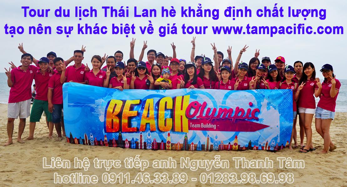 Tour du lịch Thái Lan hè khẳng định chất lượng tạo nên sự khác biệt về giá