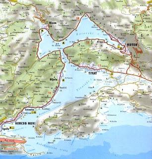 Boka Kotorska-ograničenja brzine plovidbe