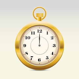 mẫu vector đồng hồ 3