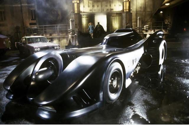 Batmobile dari Berbagai Film dan Game