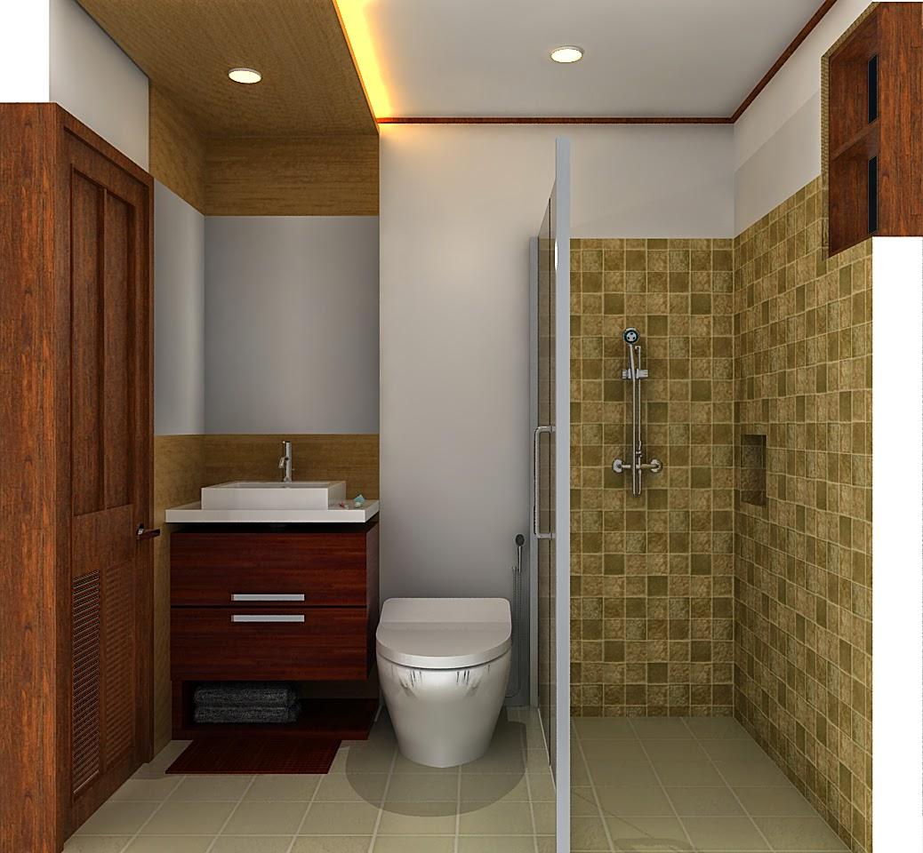 Gambar Model Kamar Mandi Minimalis - Desain Interior