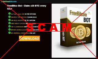 «FreeBitco Bot - Claim x30 BTC every hour» - SCAM
