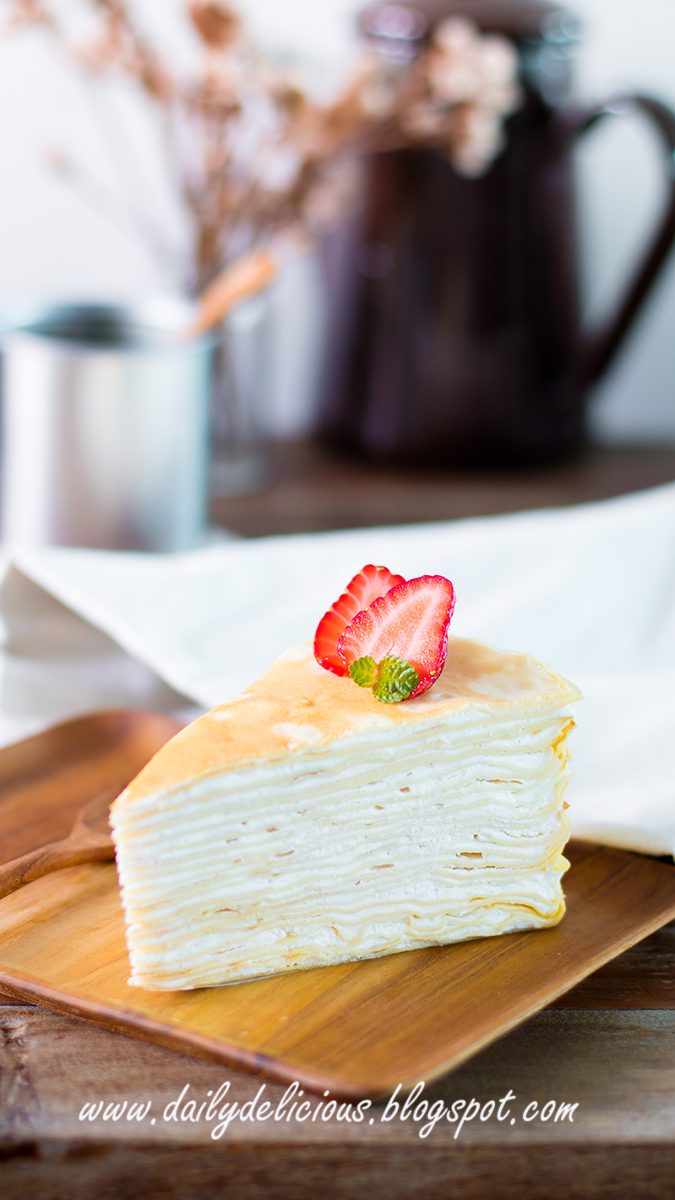 Crepe Layer Cake Singapore