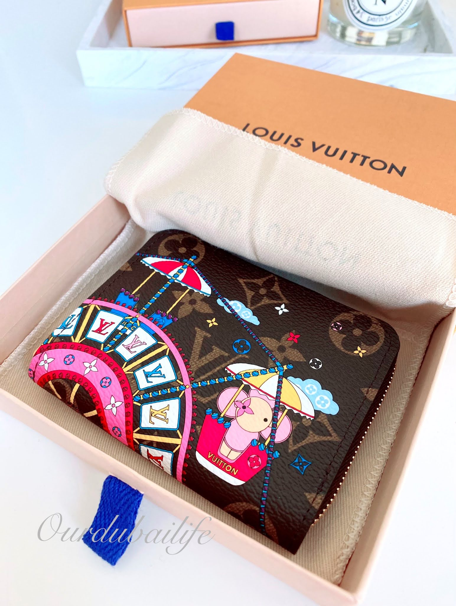 Louis Vuitton Christmas 2020 Vivienne Ferris Wheel Zippy Coin Purse