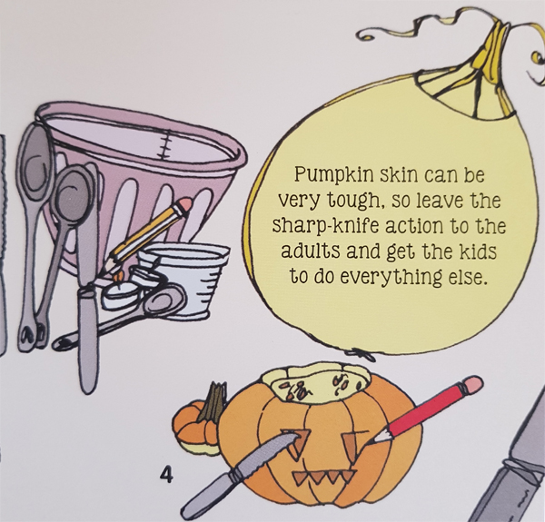 Pumpkin planting and carving